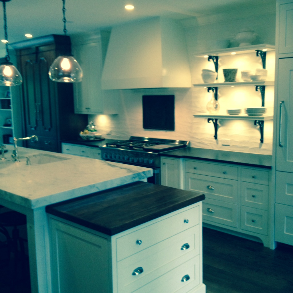 Recent Project: Incorporating 2 Different Countertops In The Kitchen